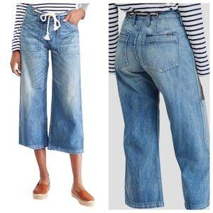 Polo Ralph Lauren Rope Tie Crop Jeans